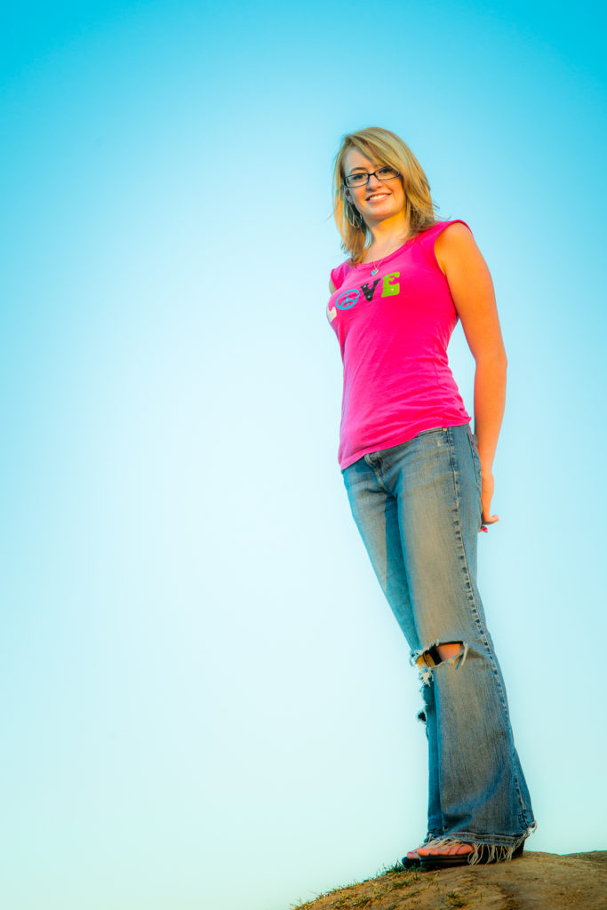 Lindsay Rigout, senior portrait. September 08, 2012