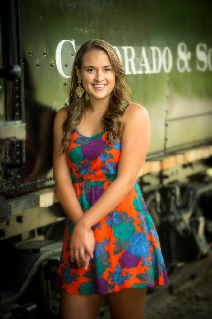 Rachel C. Campbell senior portrait taken in Breckenridge Colorado, July 9, 2013.  Original DNG =  022MP_0102